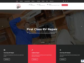 Portfolio Page - First Class RVZ