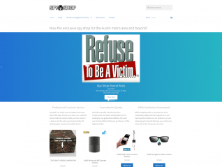 Portfolio Page - Spy Shop Round Rock