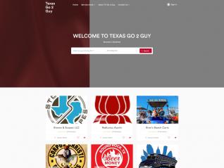Portfolio Page - TX Go 2 Guy